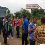 Projet Pépinière de Responsables Techniques : sortie de terrain à Gbatope