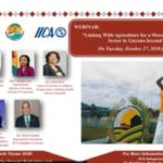 Webinar : Lien avec l'agriculture pour un secteur touristique plus durable en Guyane au-delà de la Covid