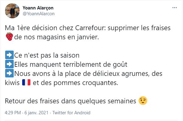 tweet Yoann Alarçon