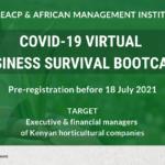 Bootcamp virtuel de survie d'entreprises en cas de COVID-19 au Kenya